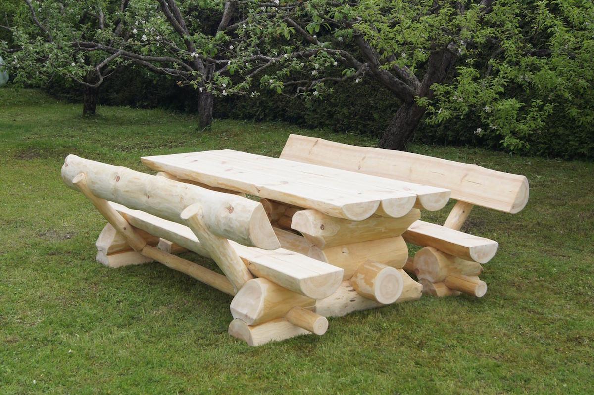 holzgarnitur norwegen natur timber moves. Black Bedroom Furniture Sets. Home Design Ideas